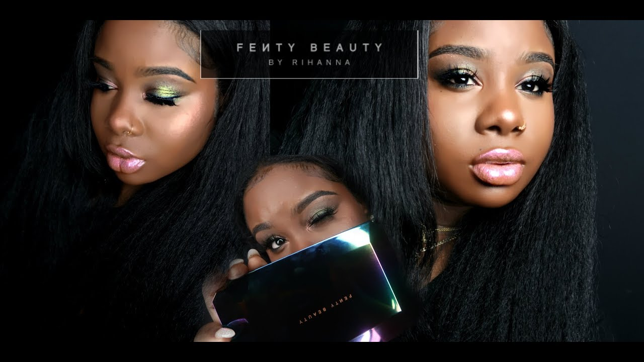 ♡ FENTY BEAUTY Galaxy !! OMG I LOVEEEEEE IT