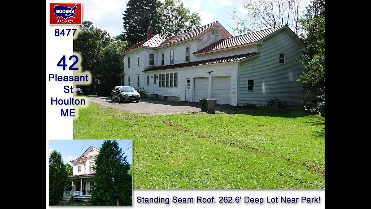maine real estate listing on 42 pleasant street houlton me mooers 8477 youtube