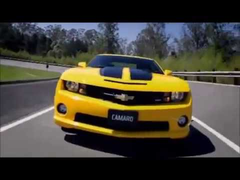 Camaro Car Hd Wallpapers Yellow Chevrolet Camaro Ss Black Stripes Mp4 Youtube
