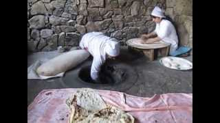 Armenian Women Making Lavosh