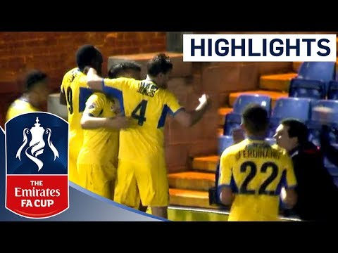 Non-League Woking Shock Bury Away from Home! | Highlights | The Emirates FA Cup 2017/18