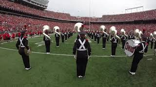 Ohio State Marching Band GoPro Experience - Pregame vs FAU