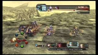 Record of Agarest War 2 - Gameplay Video (Basic Battle Sequence)