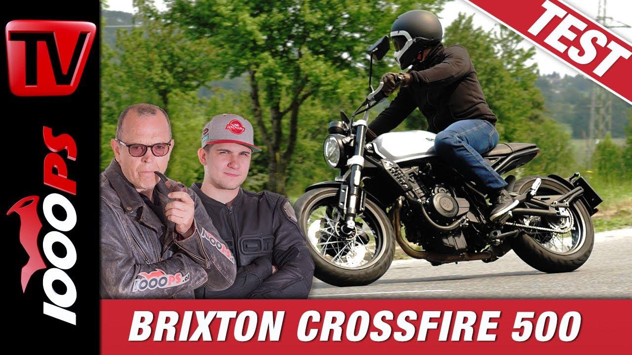 Brixton Crossfire 500 2020 - Günstiges 500er A2 Retro Motorrad im Test