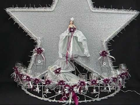Quinceanera star centerpieces