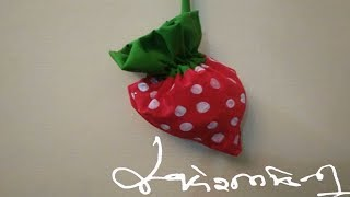 DIY STRAWBERRY BAG