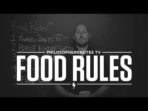 PNTV: Food Rules By Michael Pollan