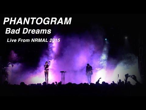 "Phantogram performs ""Bad Dreams"" at NRMAL"