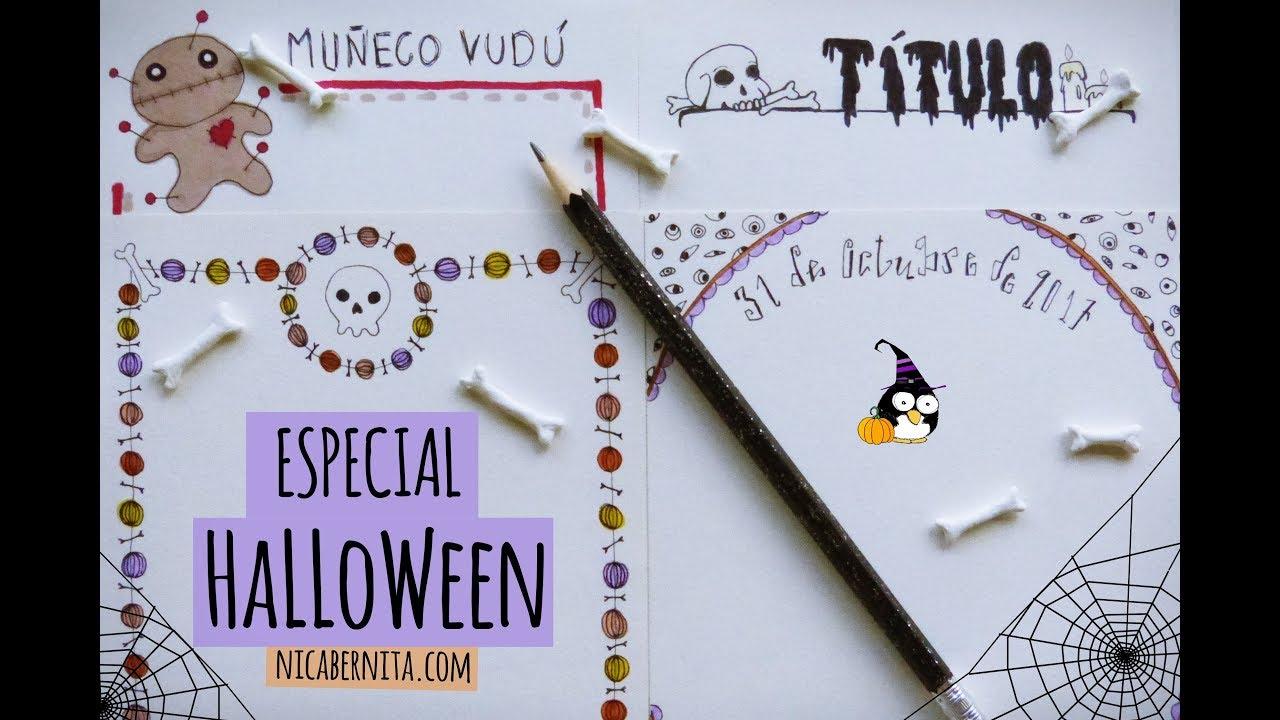 Dibujos Para Decorar Halloween