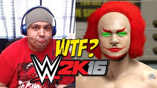 [HILARIOUS!] WHAT THE F#%K IS THAT!? [WWE 2K16] [GAMEPLAY]