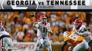 Georgia vs Tennessee Breakdown: Fromm helps No. 3 Georgia trounce Tennessee 43-14|  CBS Sports HQ