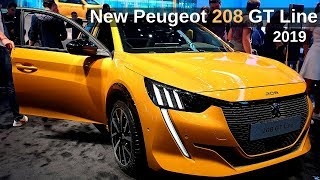 New PEUGEOT 208 GT Line 2019 Review Interior Exterior