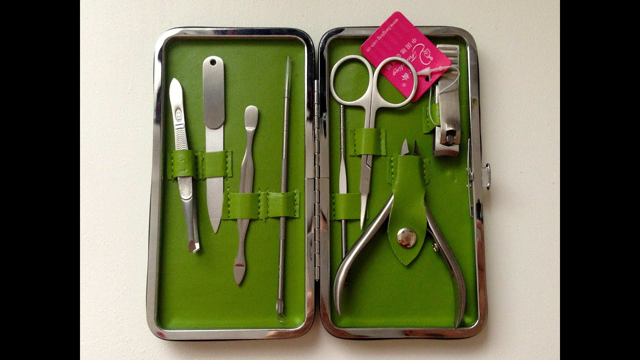 Review: Stainless Steel Nail Manicure Set from Tmart & GIVEAWAY ...