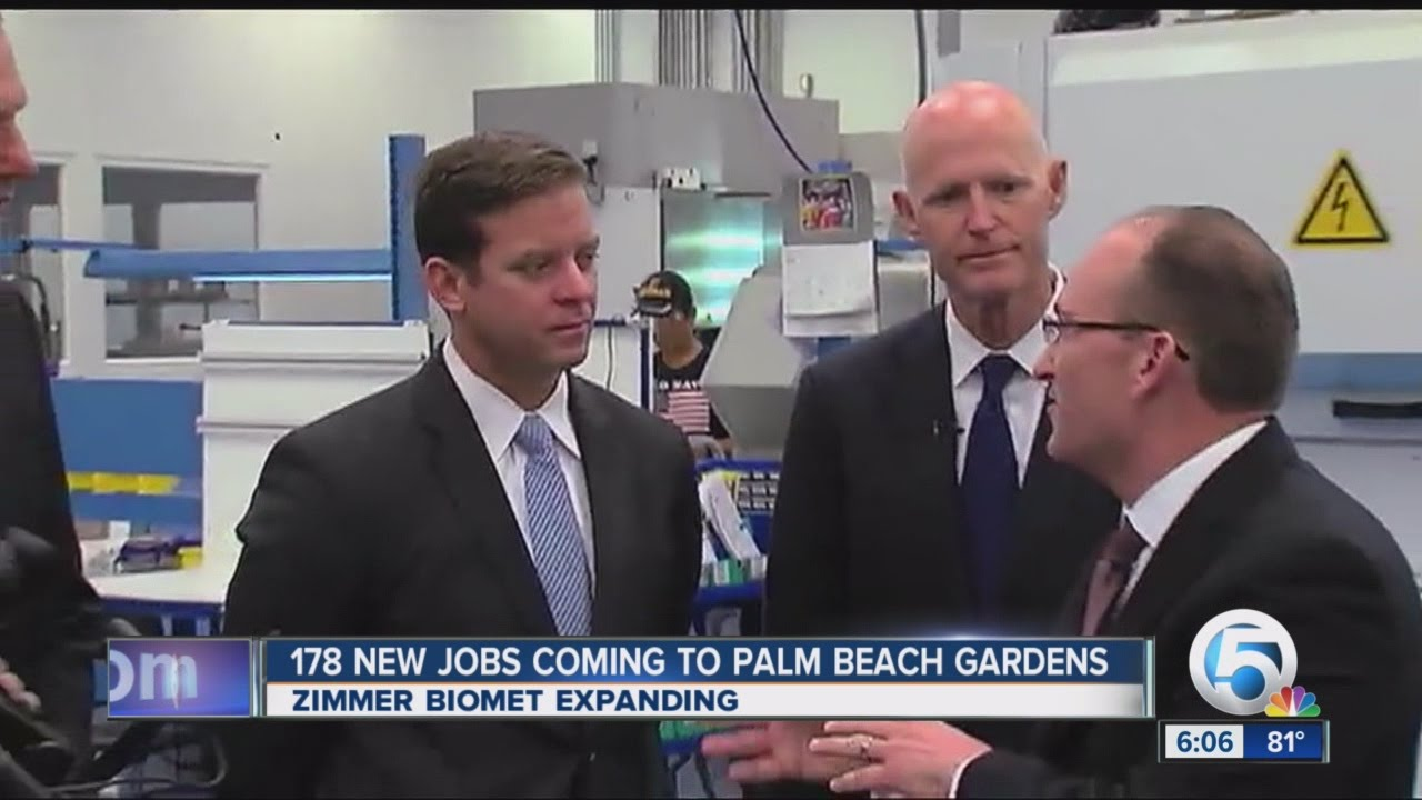 More Jobs Coming To Palm Beach County