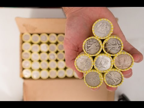 Half Dollar Coin Roll Hunting vol. 3 (Epic 90% & 40% Silver Finds with BoNuS!!!)