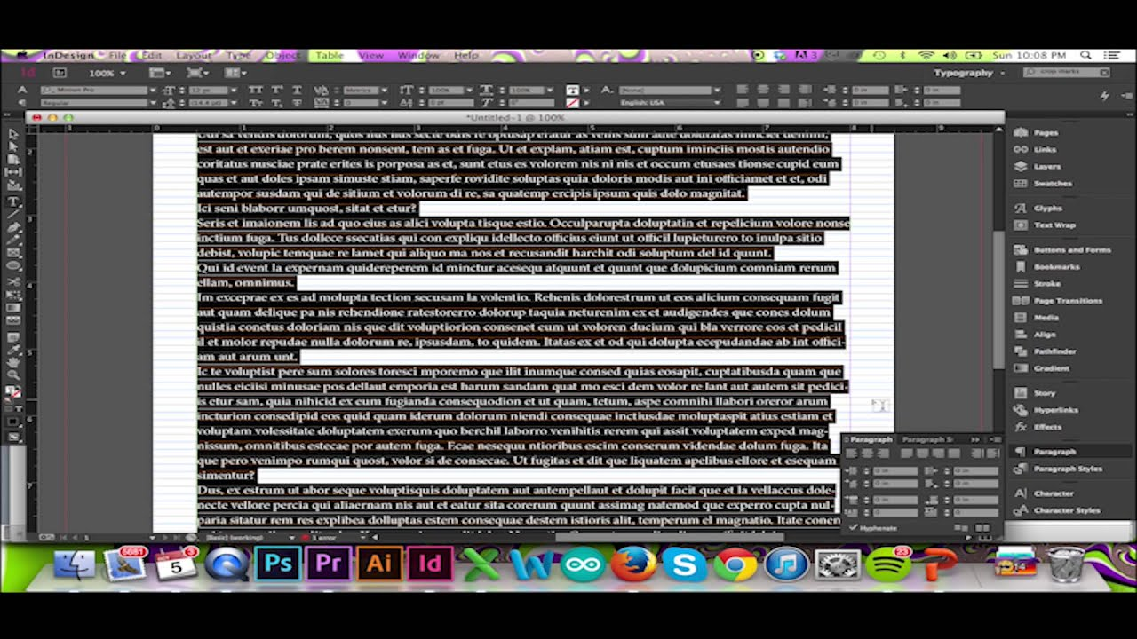 Text and The Baseline Grid in InDesign CC/CS6