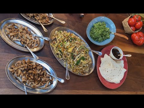How To Make Mu Shu Pork, Chicken or Tofu | #StayHome With Rachael