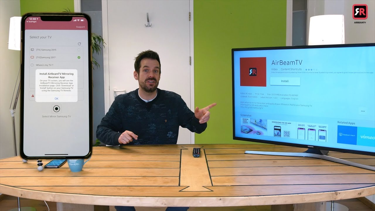 Screen Mirroring Iphone Or Ipad To, How To Mirror Iphone Samsung Tv Free Without Apple