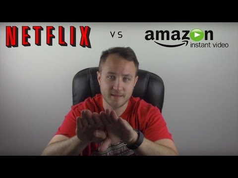 Amazon Prime Instant Video VS Netflix Streaming