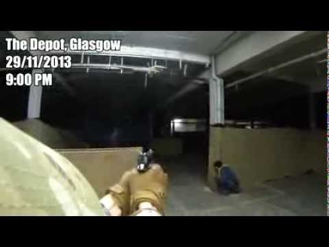 AIRSOFT & RUGBY DO NOT MIX - Airsoft FPS Action Short, The Depot