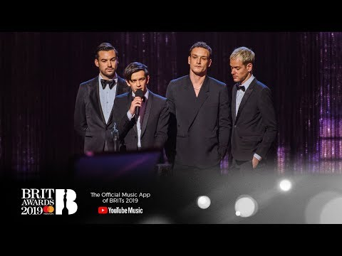The 1975 win British Group | The BRIT Awards 2019