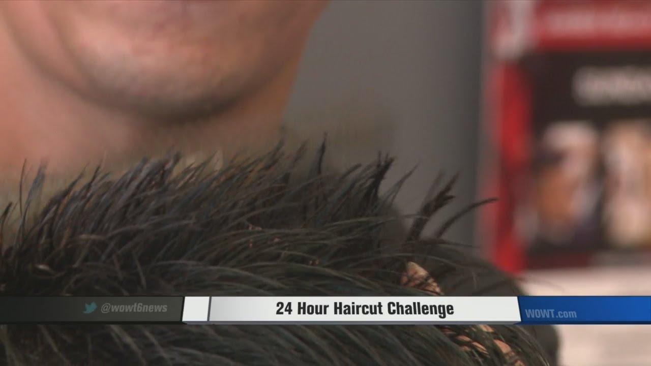 24 Hour Haircut Challenge Youtube