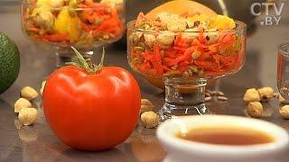 Рецепты здорового питания от Натальи Чавко: морковный салат