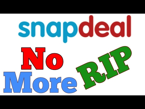 Snapdeal Shutdown OMG!!! Why?