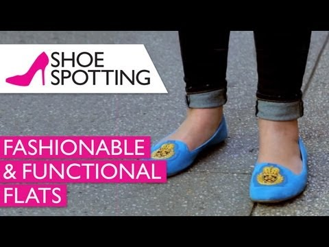 Fashionable & Functional Womens Flats | Shoe Spotting | Ep. 2