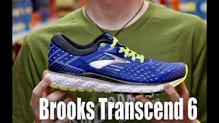 Brooks Transcend 6 Shoe Review - YouTube