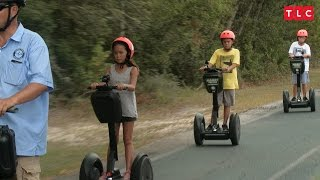Kate Can't Keep Up With the Kids on Her Segway | Kate Plus 8