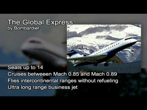 Bombardier Global Express video from JetOptions Private Jets