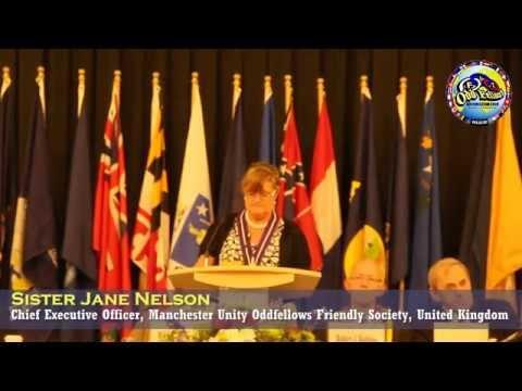 Speech by Sister Jane Nelson, C.E.O. of Oddfellows Friendly Society