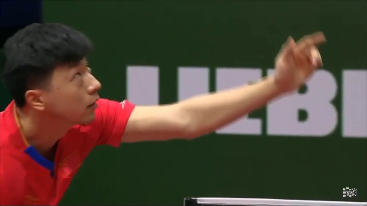 Download Ma Long serve in slow motion (2019 World Table Tennis Championship)