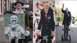 ANDY PARKIN - ARTIST, FRIEND TO CHARLES BRONSON, FORMER BOXER, PAINTS CAPTAIN TOM MOORE FOR NHS!!