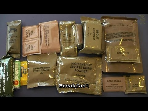 MRE Review - Australian 24hr CR1M (Part 2: Breakfast)