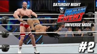 wwe 2k15 universe mode snme episode 2 the tournament continues snme