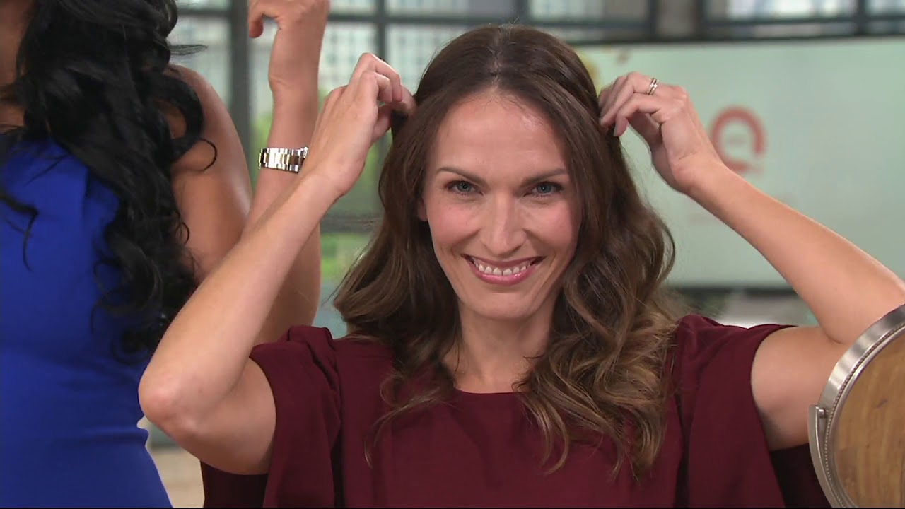 Bellami Bell Air Hair Extensions Set On Qvc Youtube