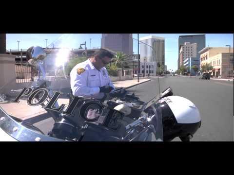 Tucson Motorcycle Police Using Toughbook U1