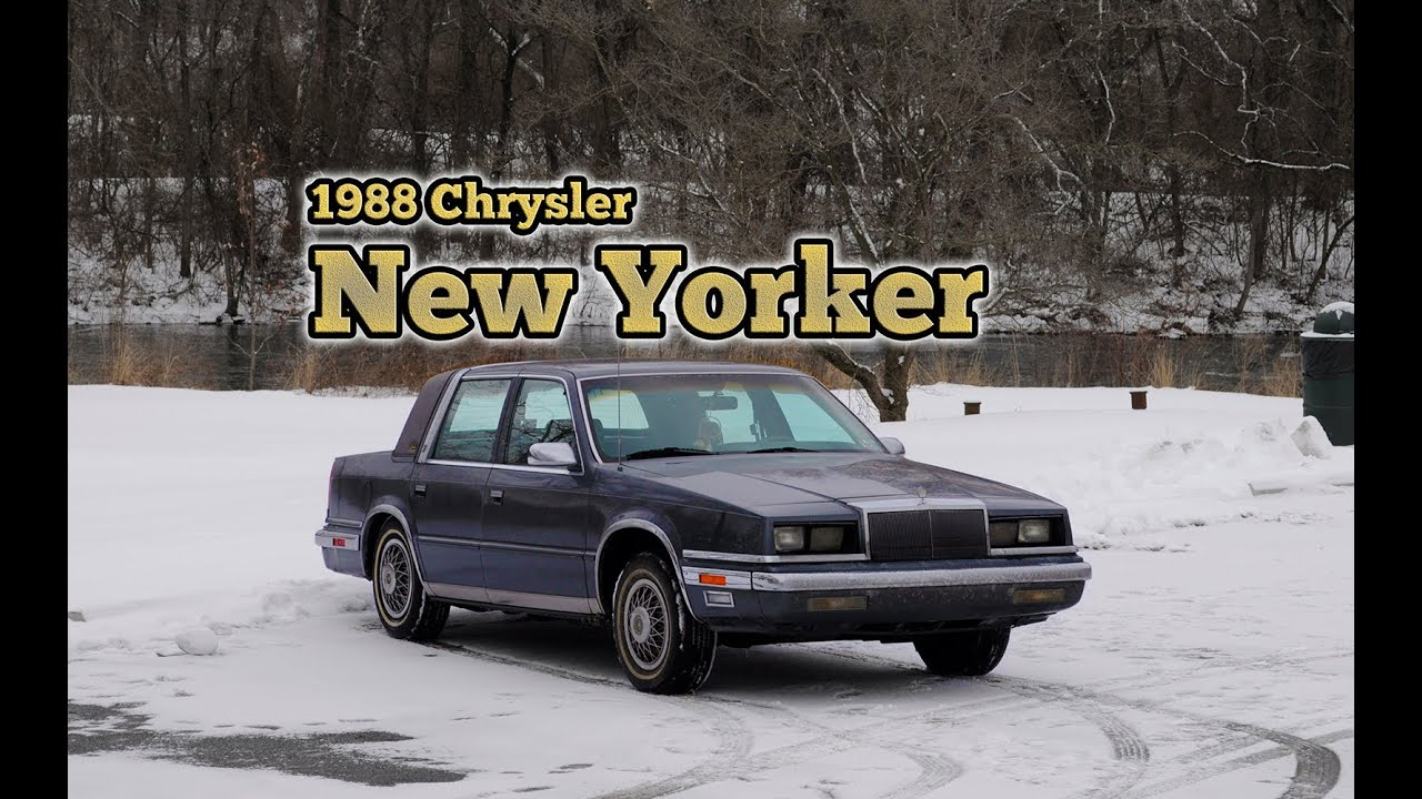 Regular Car Reviews 1988 Chrysler New Yorker
