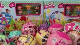 Sahte LOL Sürpriz Bebeklere Oyun Parkı Açtık Beğenmedik diye 2 tane LOL Surprise Party Favor Pack