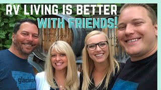 RV LIVING IS BETTER WITH FRIENDS! (AND MORE STORMS IN SOUTH DAKOTA)