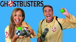 Ghostbusters Ecto Minis + SlimeBall Dodgetag Game !     Blind Bag Show Ep47    Konas2002