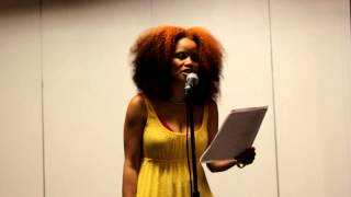 "UP Magazine: Staceyann Chin performs ""Tweet This You Small-Minded  M**********r!"" in Nairobi"