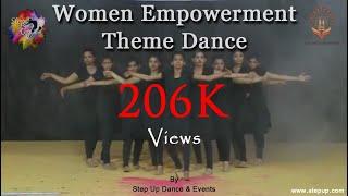 Women Empowerment Theme Dance. (Choreographed by Rushabh Savla)