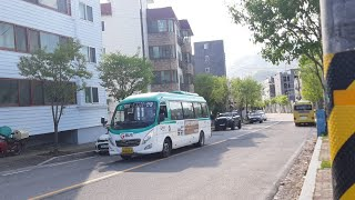 [대양운수] 동두천시 시내버스 1번 (동두천터미널.롯데…