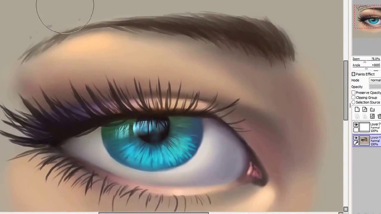 How to draw an eye tutorial paint tool sai youtube how to draw an eye tutorial paint tool sai ccuart Images