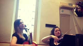 Butterfly Waltz performed by Ariana Strings duet