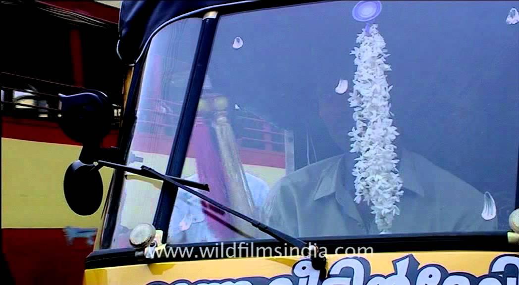 Auto Rickshaw At Kizhakke Kotta, Trivandrum
