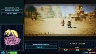 Octopath Traveler by LaurieDBunnykins in 1:27:02 - Frost Fatale 2020